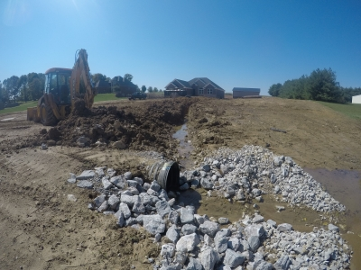 Erosion Control in southern indiana